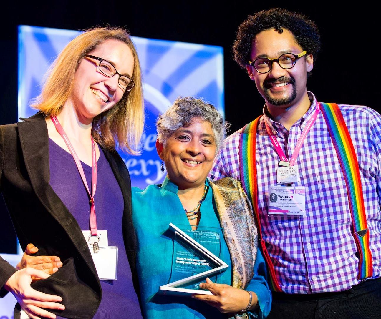 Intersectionality Award Winner Shiva Subbaraman